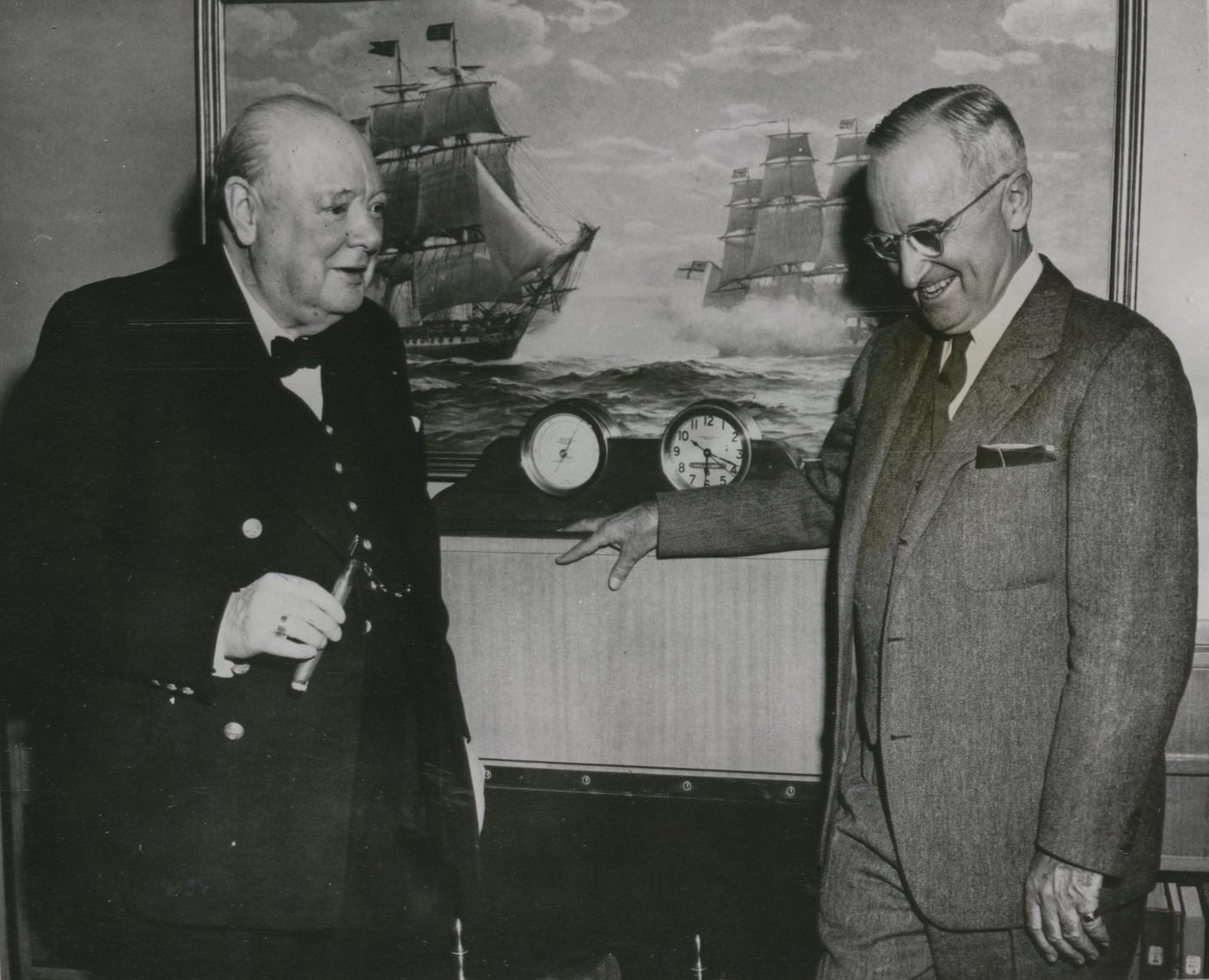 churchill and truman
