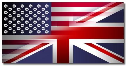 US BRITAIN FLAGS