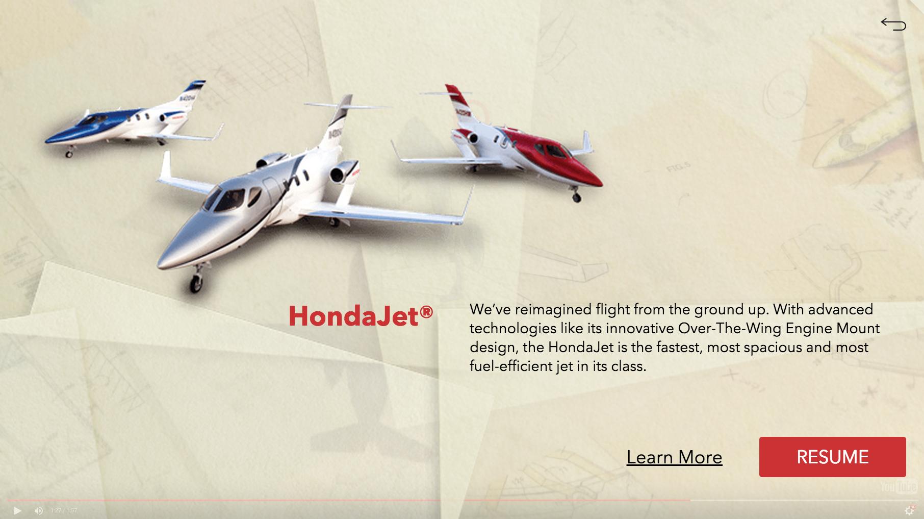 Honda Jet Overlay